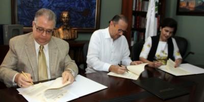 Firman acuerdo para impulsar una alianza estratégica cultural en Santiago