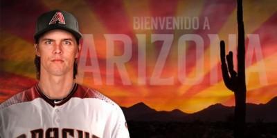 Arizona anuncian  oficialmente el contrato de Zack Greinke