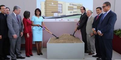 Cándida Montilla de Medina marca construcción laboratorio Tamiz Neonatal