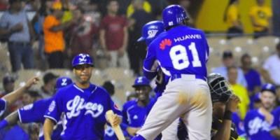 Tigres vencen Águilas y siguen firmes en la cima del béisbol dominicano