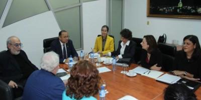 Cultura y el BID coordinan acciones a favor Zona Colonial de Santo Domingo