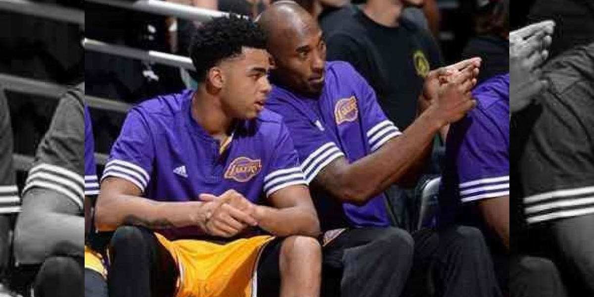 D'Angelo Russell imita el estilo Kobe Bryant
