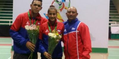 Bádminton RD trae Plata y Bronce de Juegos Escolares Centroamericanos y del Caribe