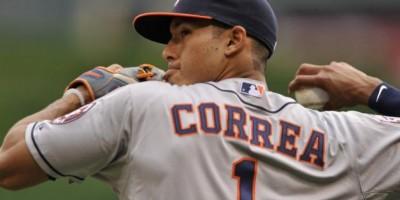 El pelotero Carlos Correa dominó el deporte puertorriqueño en 2015