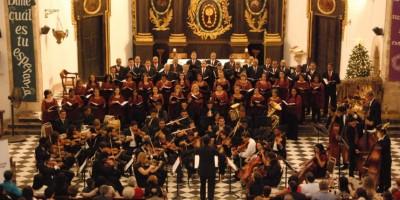 Coro Nacional con presentación de concierto en navidad