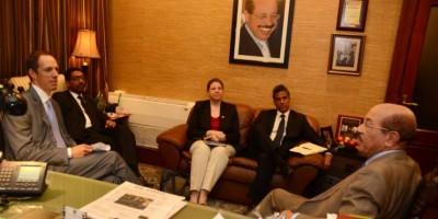 Montás y embajador canadiense abordan temas de inversión y comercio bilateral
