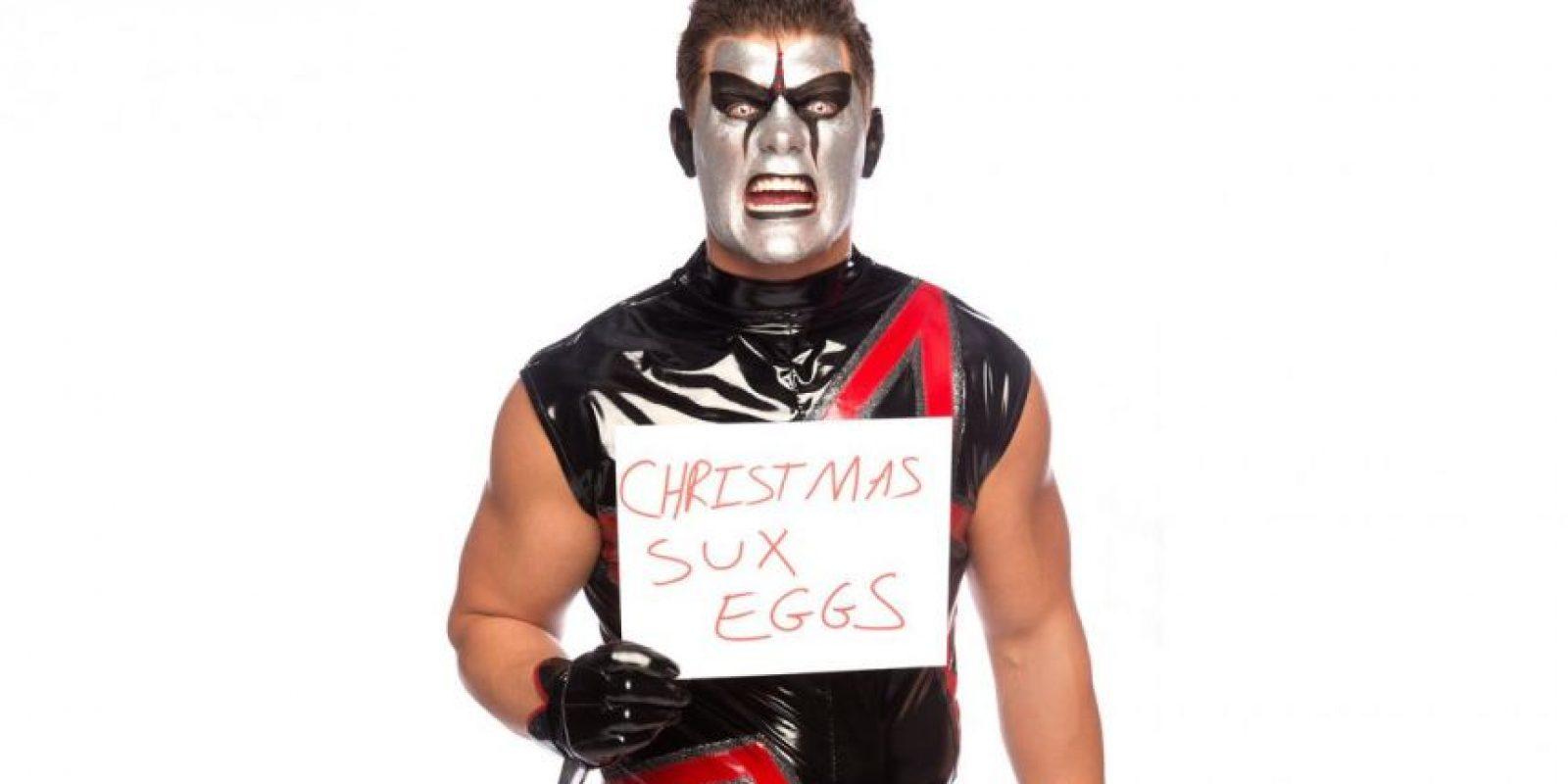 Stardust odia la Navidad Foto:WWE