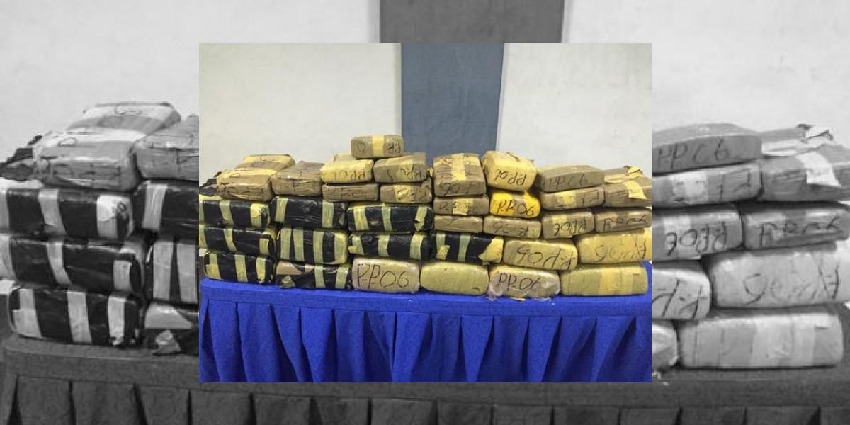 PN decomisa 234 libras de marihuana en Santo Domingo Oeste