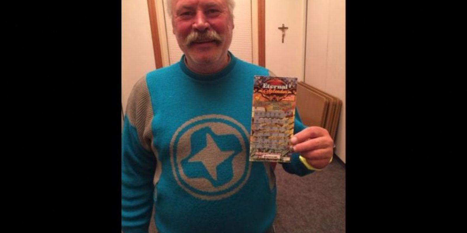 A Michael Engfors le cambió la vida, luego de ganar en la lotería Foto:Aspen Homeless Shelter