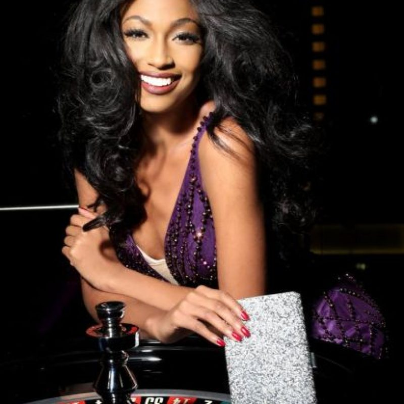 Lisa Drouillard es Miss Haiti Foto:vía facebook.com/MissUniverse