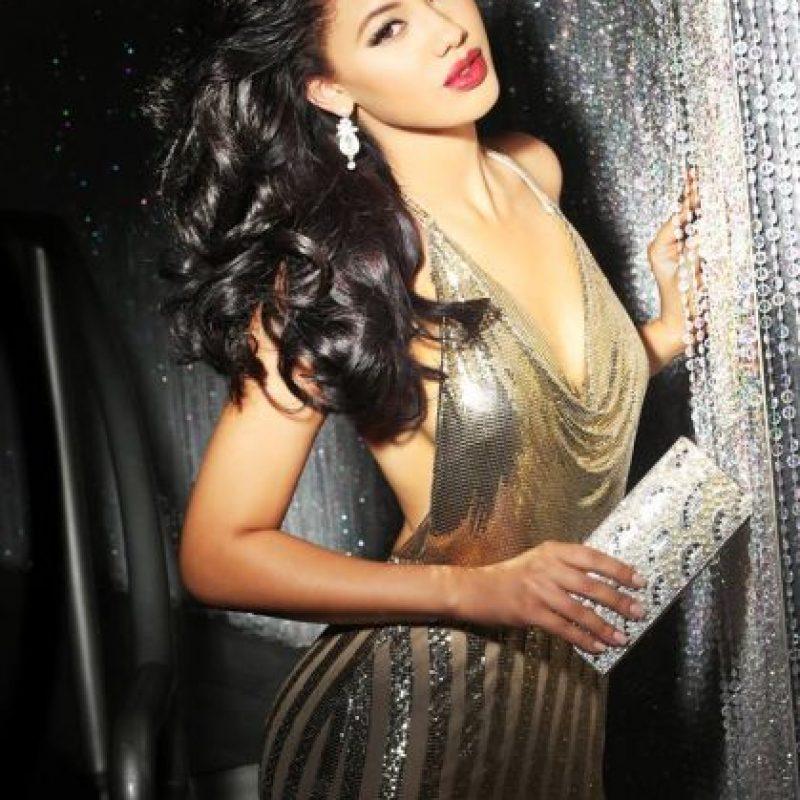 Kanisha Sluis es Miss Curazao Foto:vía facebook.com/MissUniverse