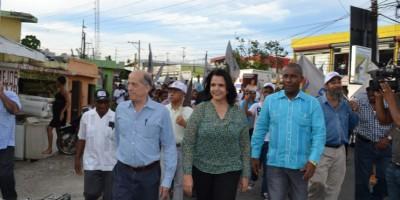 Minou Tavárez Mirabal denuncia indiferencia del gobierno ante inseguridad y pobreza en Haina