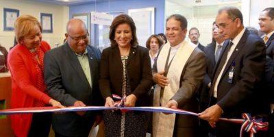 Vicepresidenta inaugura instalaciones en entidades Gabinete Social