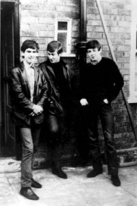 """9. John Lennon inventó el nombre de la banda, asegurando que un """"hombre en un pastel con flamas"""" se lo dictó. Foto:Getty Images"""