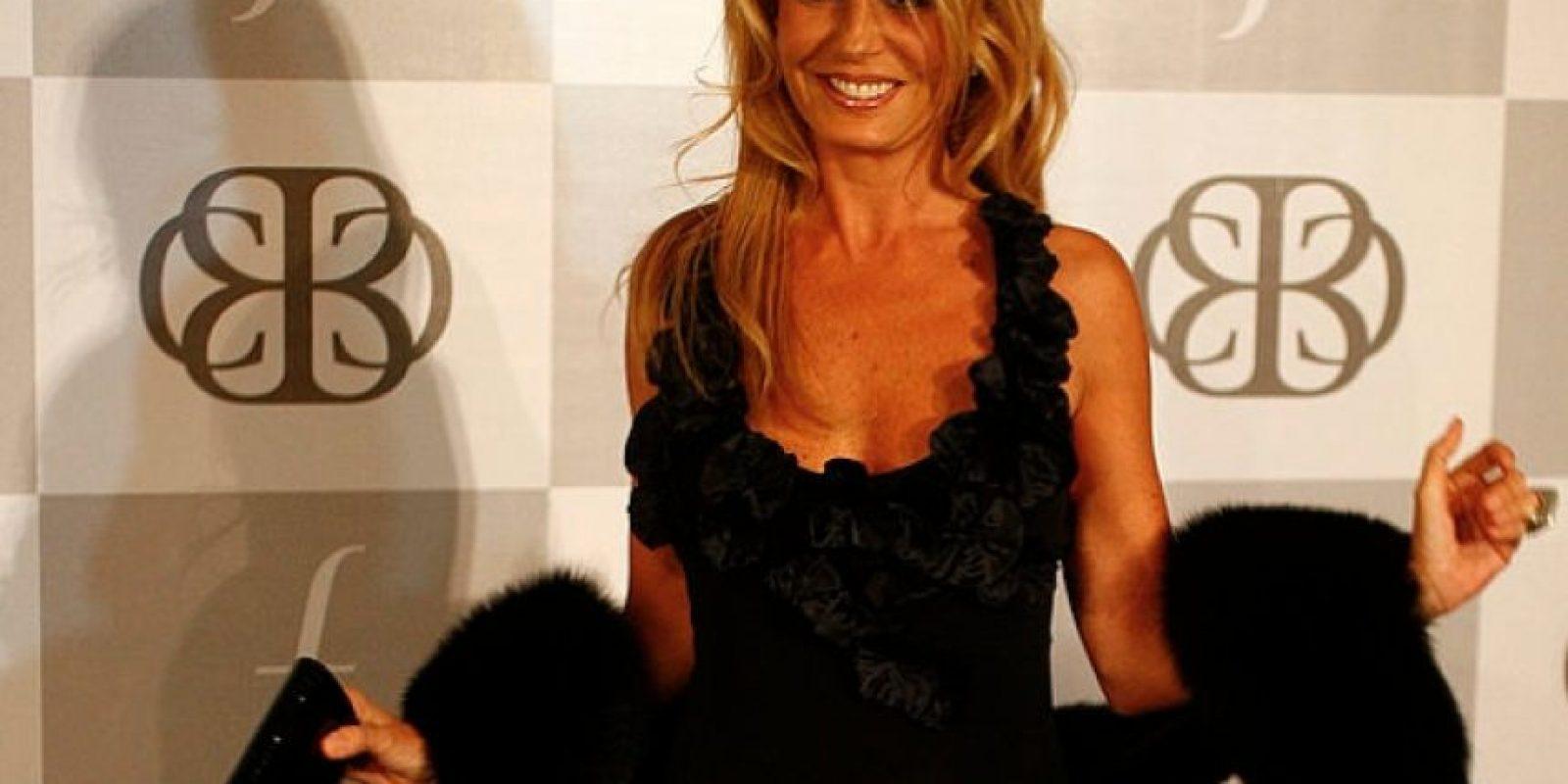 Como figura televisiva, Cecilia Bolocco es respetada, pero por su vida sentimental ha sido escandalosa. Foto:vía Getty Images
