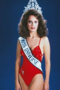 Cecilia Bolocco ganó Miss Universo en 1987. Foto:Getty Images
