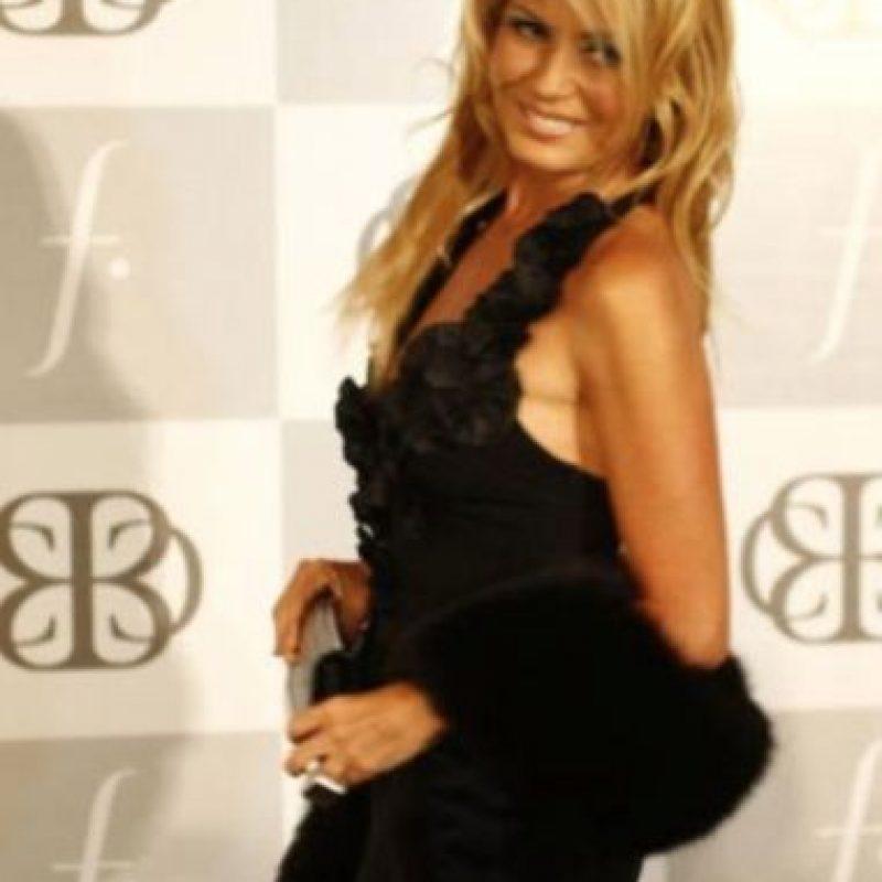 También estuvo casada con Carlos Ménem. Foto:Getty Images