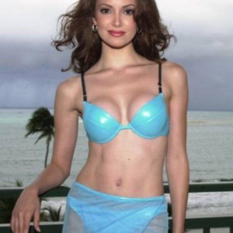 Denise Quiñones ganó Miss Universo en 2001. Foto:Getty Images