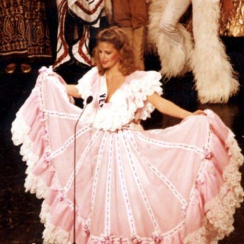 Irene Sáez, venezolana, ganó Miss Universo en 1981. Foto:Getty Images
