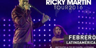Ricky Martin arrancará su nueva gira el 6 de febrero en Altos de Chavón