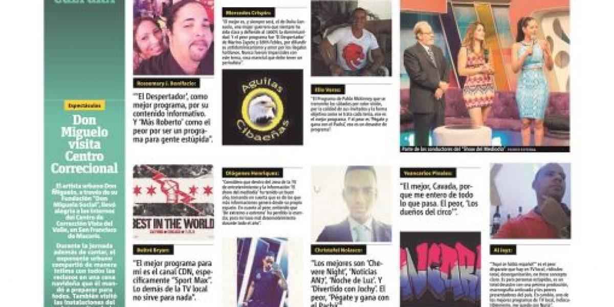 La TV dominicana vista por sus críticos
