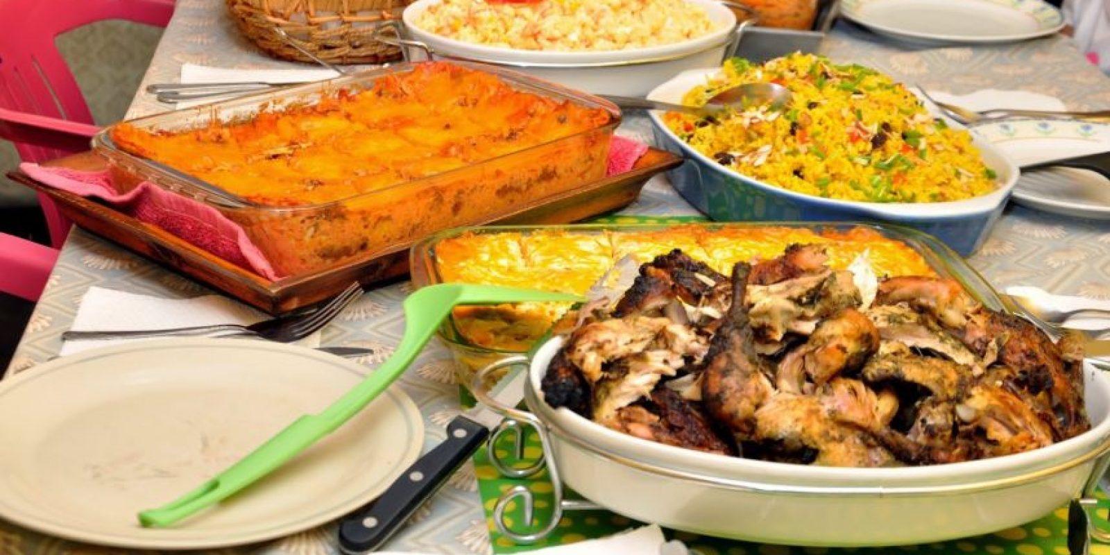 Este jueves la familia se reúne alrededor de la cena navideña