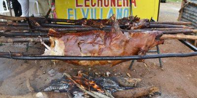 Cerdo: 250 pesos es el costo de la libra de cerdo en la Lechonera El Villano, en la autopista San Isidro. El precio varía según la zona donde se adquiera