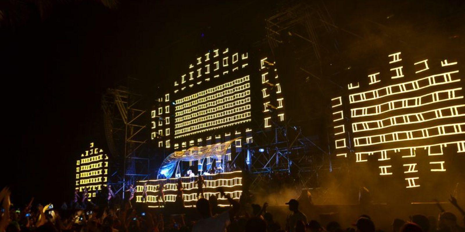 """""""Stage 1"""", parte de las plataformas que integraron """"Eletro Paradise 2015"""" Foto: Fuente externa"""