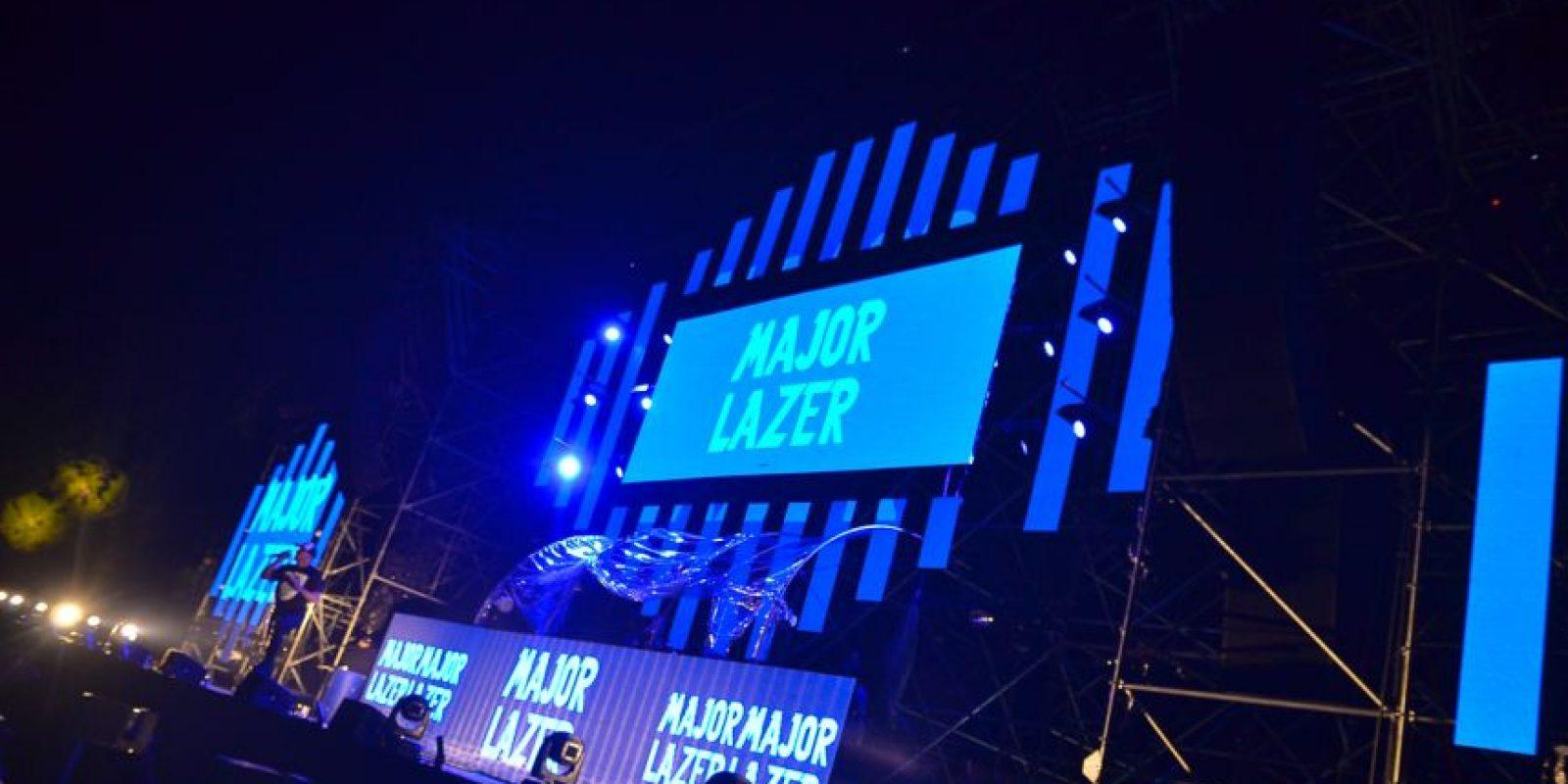 """Major Lazer"" ofreció un derroche de ritmos Foto:Fuente externa"
