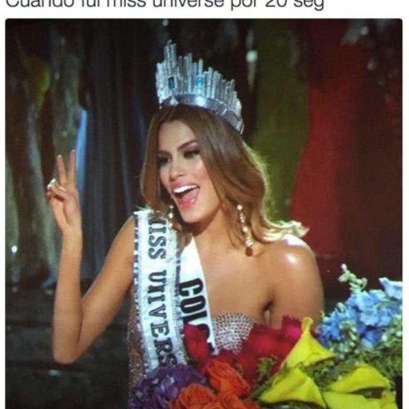 Con estos memes reaccionaron en Colombia por el error que los dejó sin Miss Universo Foto:Twitter.com – Archivo