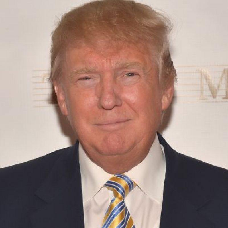 Como antiguo dueño de Miss Universo, Trump aseguró que son cosas que suceden en la televisión en vivo. Foto:Getty Images