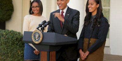 Así han cambiado las hijas de Barack Obama Foto:Getty Images