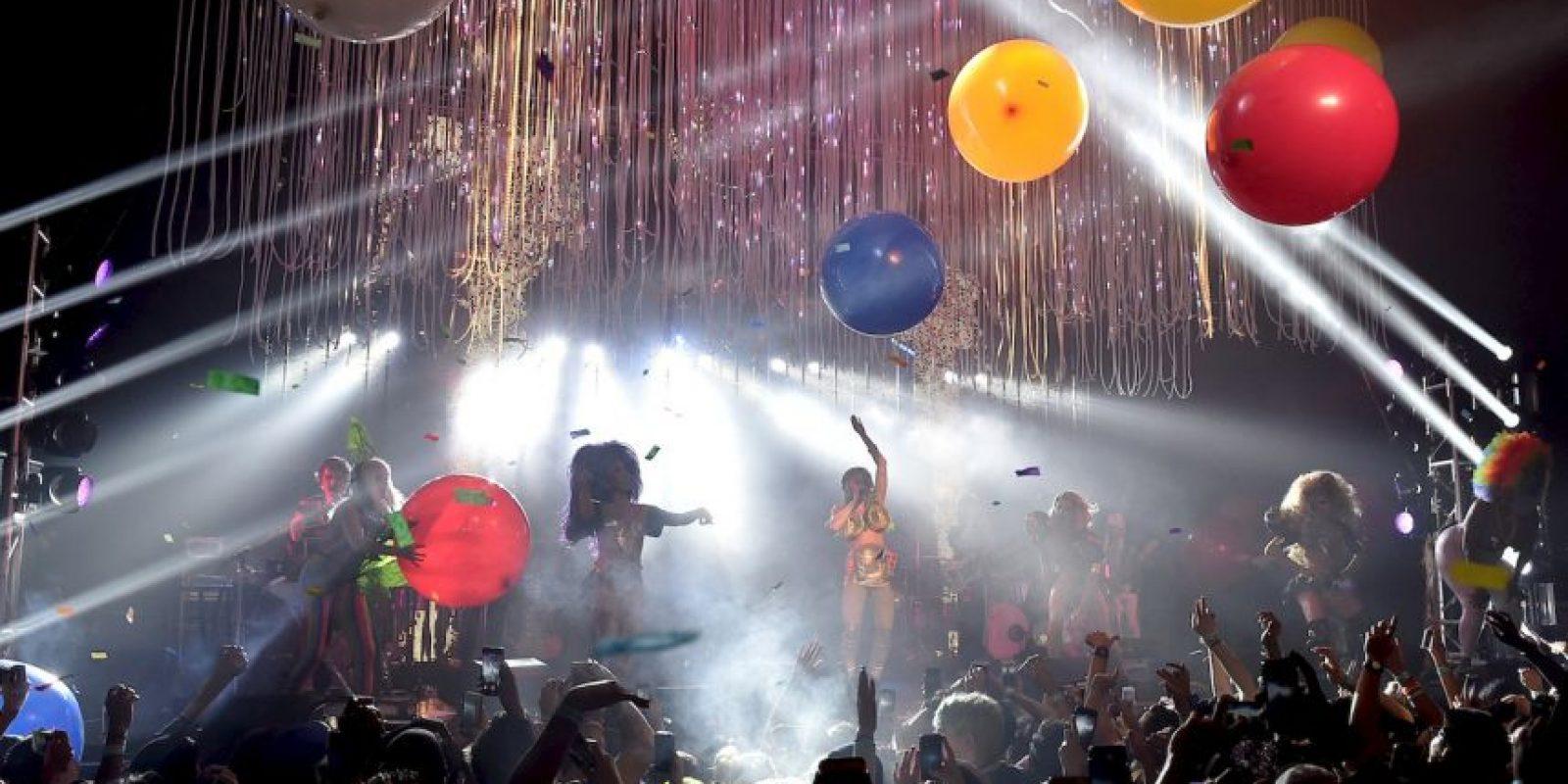 """Miley Cyrus concluyó su gira """"Dead Petz"""" el pasado fin de semana en Los Ángeles. Foto:Getty Images"""