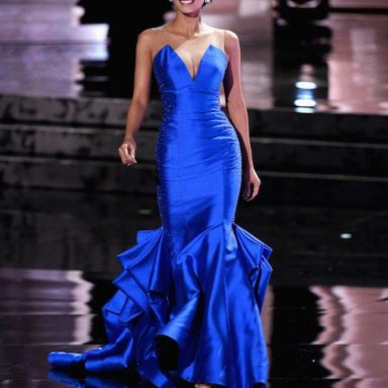 """Sin embargo, minutos después rectificó y dijo que asumía la responsabilidad: """"La ganadora es Miss Filipinas"""". Foto:Getty Images"""
