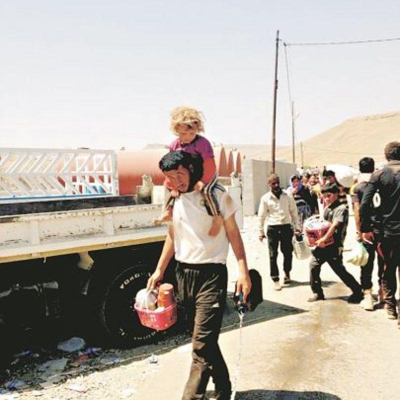 Kurdos y yazidis son algunas de las minorías étnicas que existen en todo el territorio iraquí