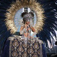 Y sus ojos se ocultaron. Foto:Miss Universo