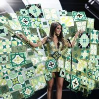 ¿Cubismo? Foto:Miss Universo