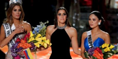Video: Candidatas ignoran a Miss Universo y apoyan a Miss Colombia