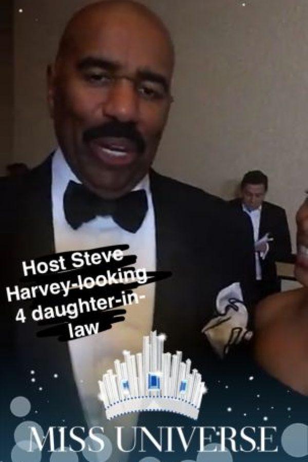 En la cuenta de Snapchat de Miss Universe se realizó una cobertura minuto a minuto Foto:Snapchat – Miss Universe