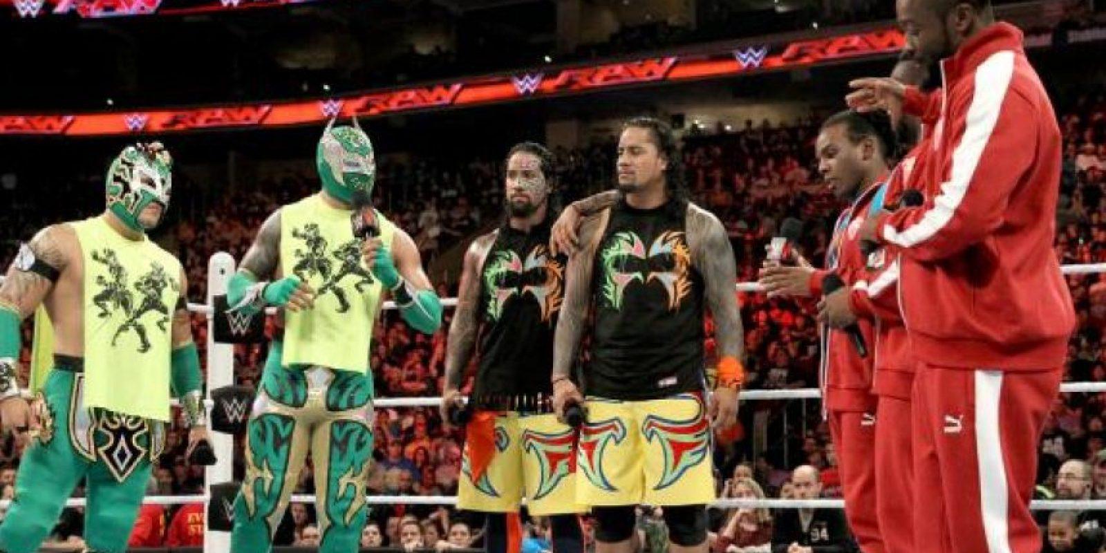 """Sus principales adversarios son """"The Lucha Dragons"""" y """"The Usos"""" Foto:WWE"""