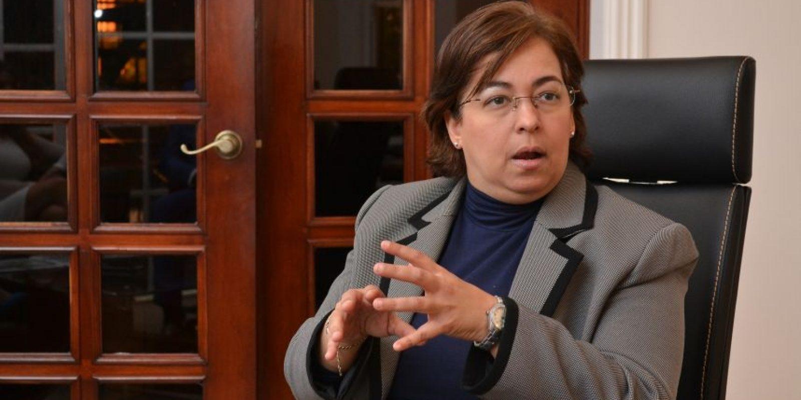 Roxanna Reyes Acosta, procuradora Adjunta para Asuntos de la Mujer Foto:Mario de Peña