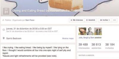 Inscribirse a eventos falsos de Facebook es la nueva tendencia en redes sociales