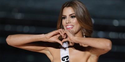 Miss Colombia invitada a lanzar la primera bola en liga menor