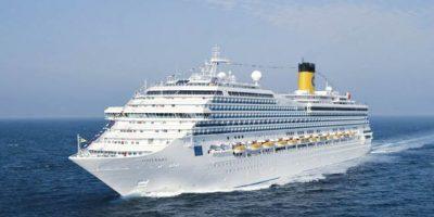EL buque Costa Mágica visita por primera vez Santo Domingo
