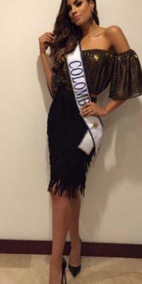 Le dieron la corona de Miss Universo por menos de tres minutos Foto:Vía instagram.com/gutierrezary