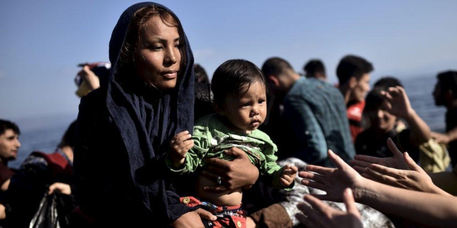 Hasta el momento 530 personas de Irak y 120 de Afganistá regresaron a sus hogares. Foto:AFP