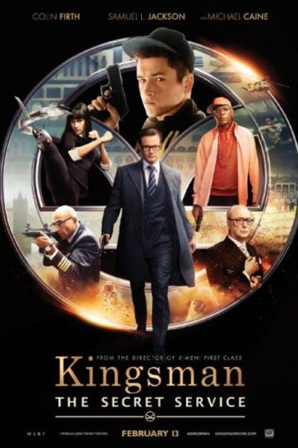"""""""Kingsman: The Secret Service"""" tiene ganancias de 414 millones de dólares en el mundo. Foto:IMDb"""