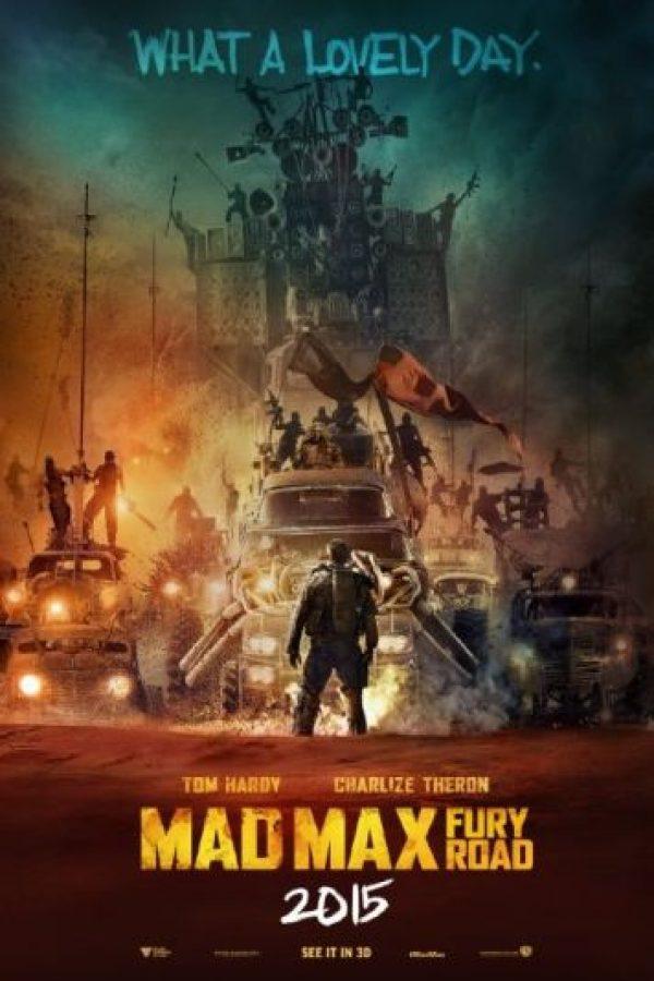 """""""Mad Max: Fury Road"""" generó 375 millones de dólares a nivel mundial. Foto:IMDb"""