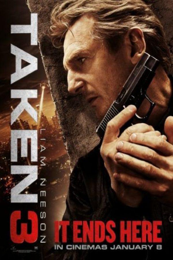 """""""Taken 3"""" tuvo ganancias de 326 millones de dólares en el mundo. Foto:IMDb"""