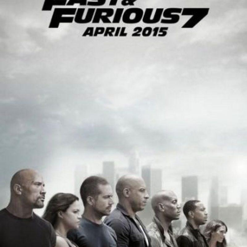 "1. ""Fast and Furious 7"", con 41 errores Foto:IMDb"